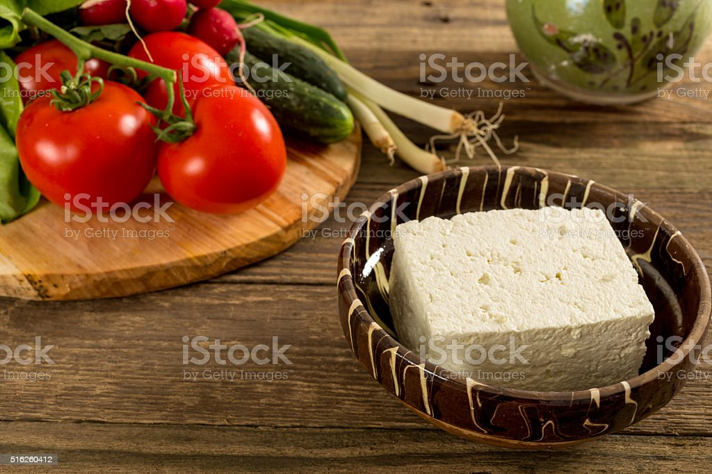 Traditional Romanian food stock photo