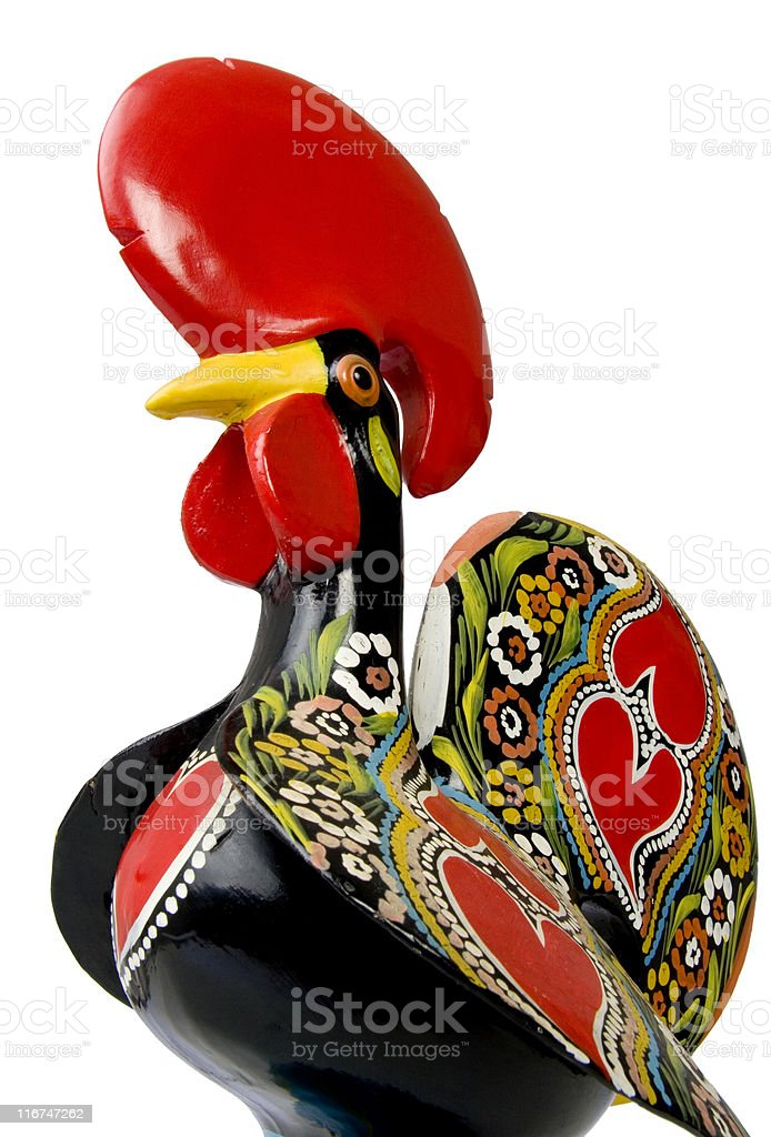 Traditional Rooster stock photo