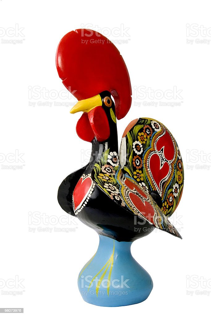 Traditional Rooster royalty-free stock photo