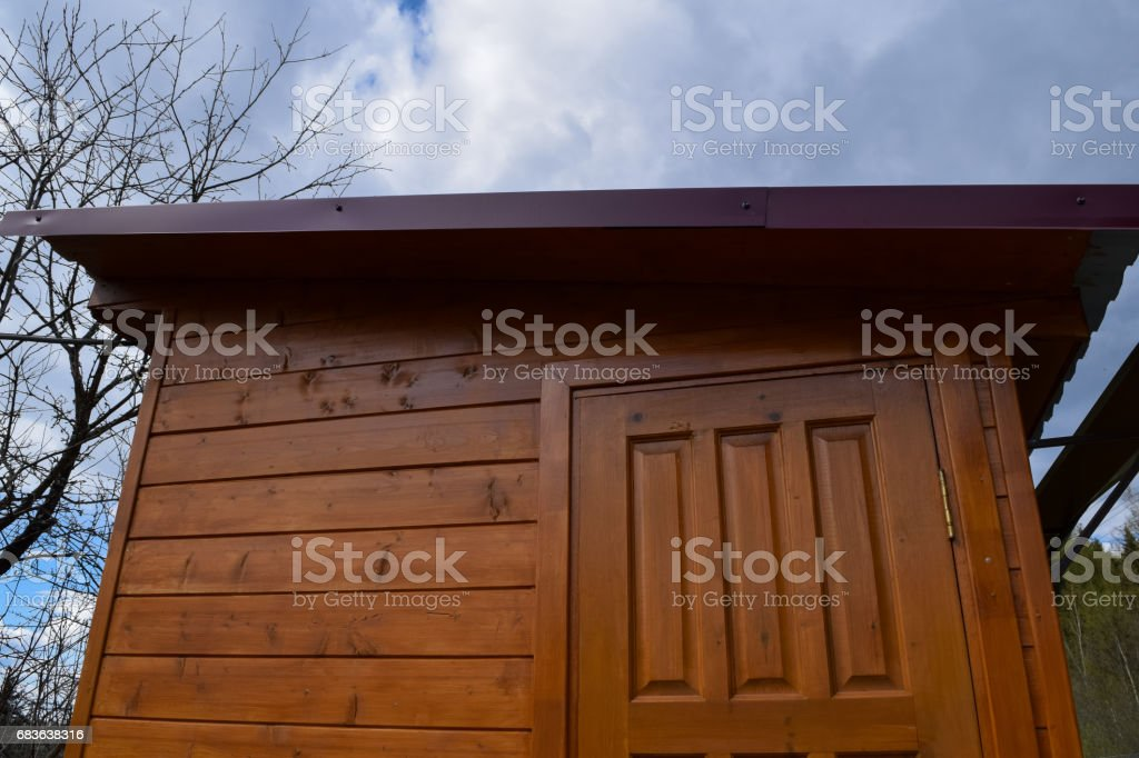 Traditional Russian Village (Holiday Village) stock photo