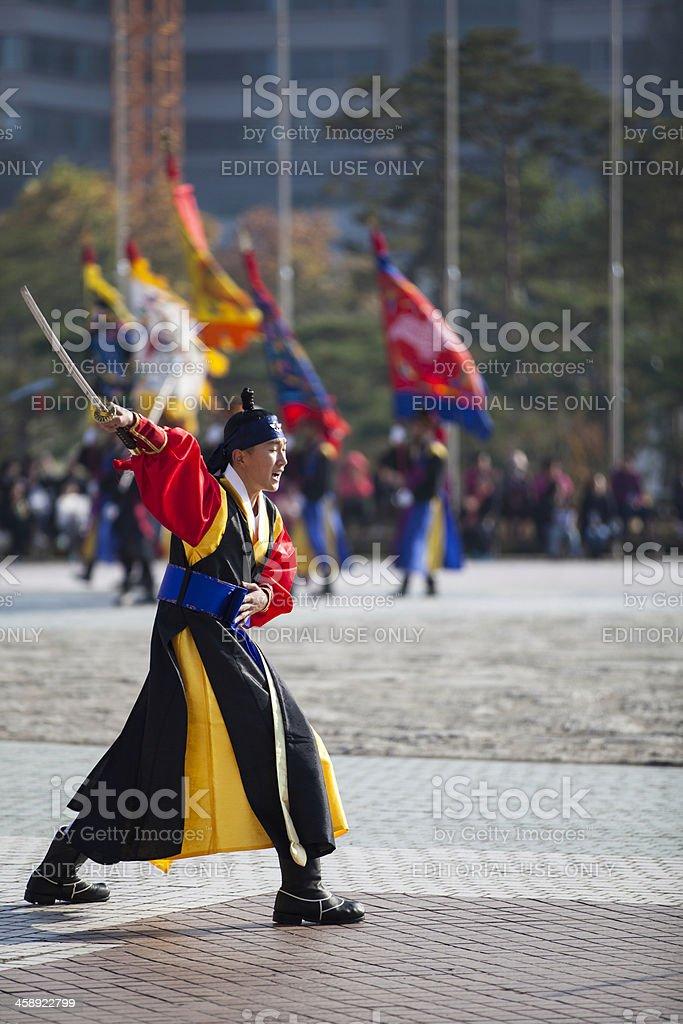 Traditional samurai royalty-free stock photo