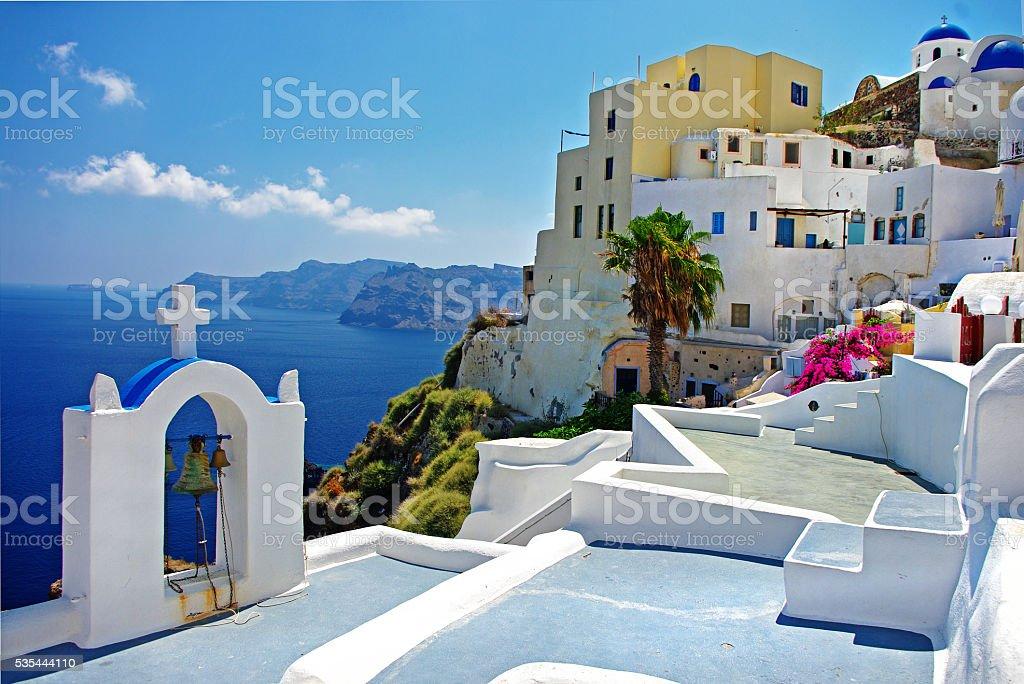 Traditional Santorini,Greece. stock photo