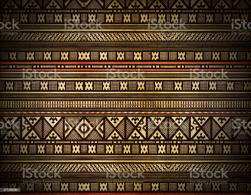 Traditional Savage Tribes Background royalty-free stock photo