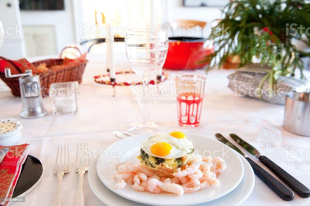 Traditional Scandinavian Lunch stock photo
