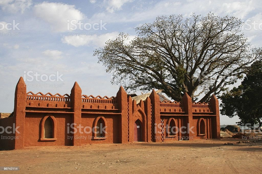 Traditional Segou stock photo