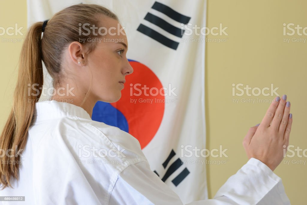 Traditional Self-Defense stock photo
