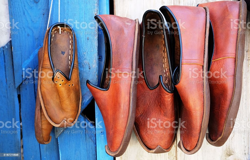 traditional shoes stock photo