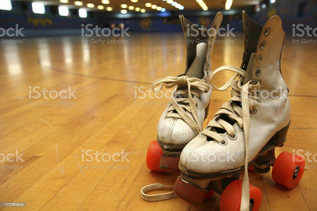 traditional skating stock photo