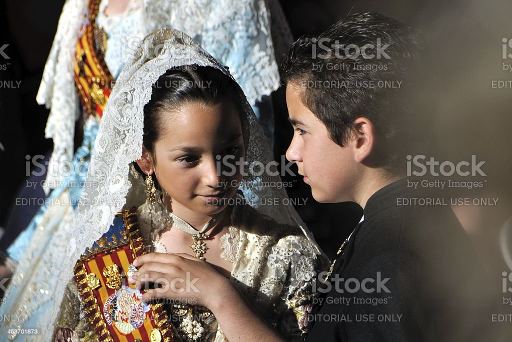 Traditional spanish costumes royalty-free stock photo