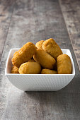 Traditional spanish croquettes