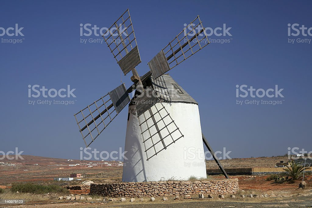 Traditional Spanish Windmill royalty-free stock photo