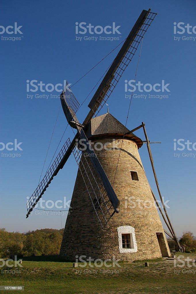 Traditional stone Windmill royalty-free stock photo