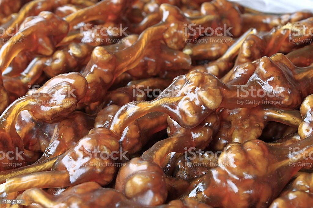 Traditional sweet food stock photo