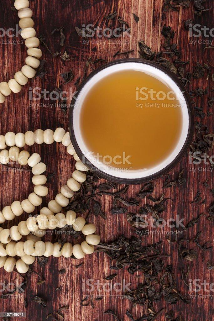 Traditional tea ceremony. stock photo