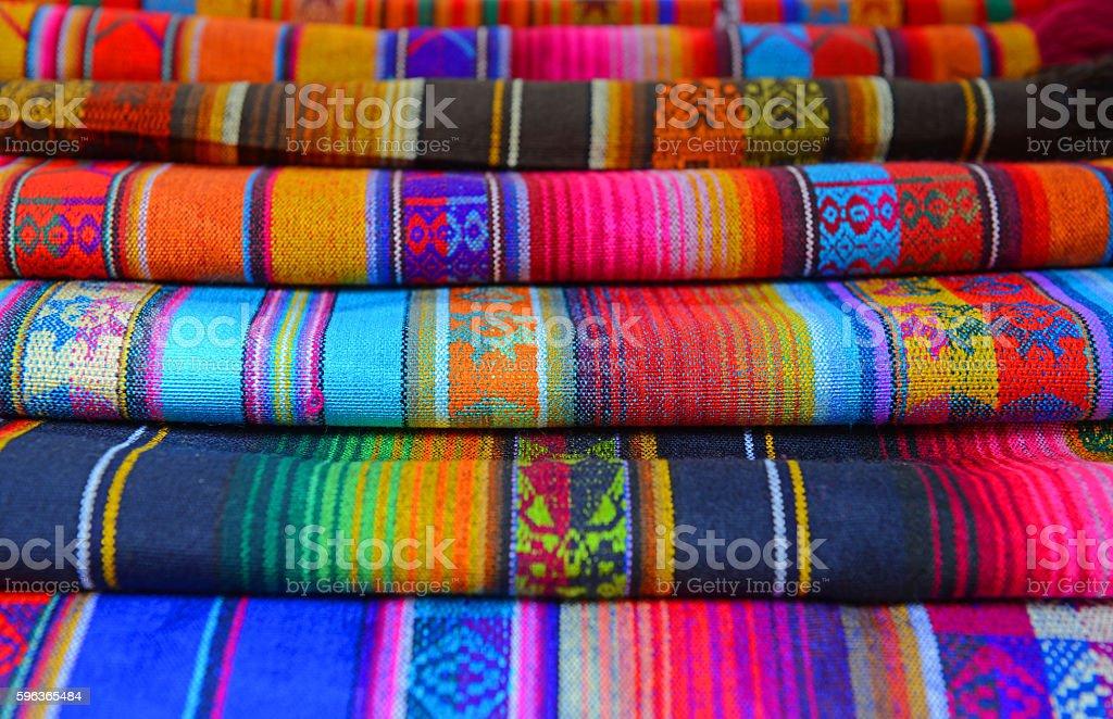 Traditional Textiles stock photo