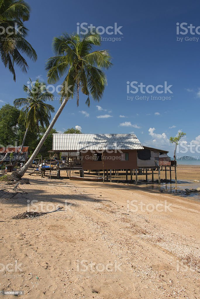 Traditional Thai House stock photo