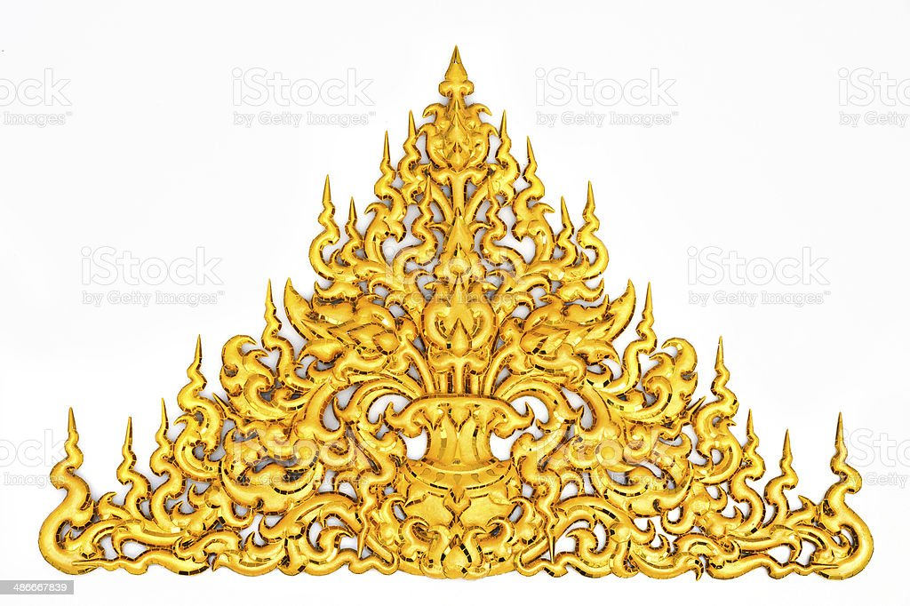 Traditional Thai style pattern. royalty-free stock photo