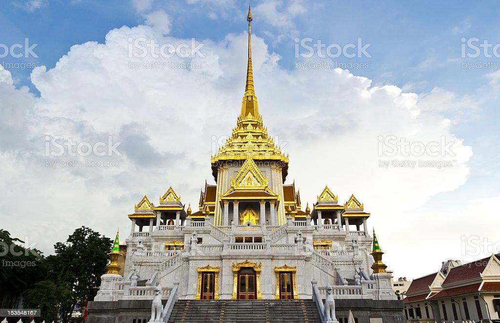 Chiesa tradizionale tailandese Tempio foto stock royalty-free