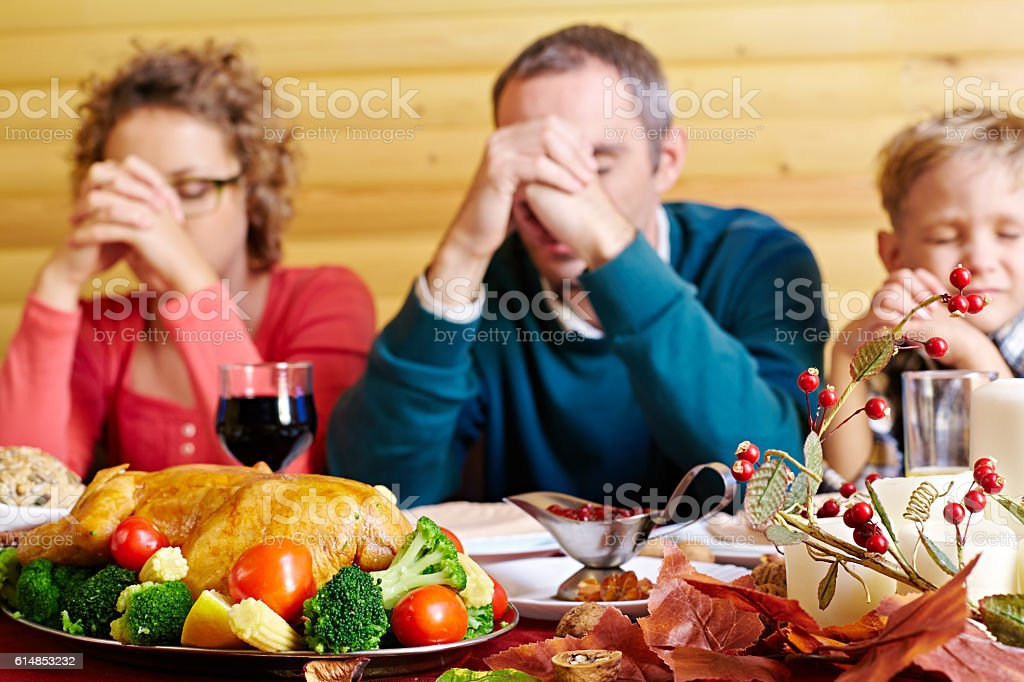 Traditional Thanksgiving stock photo