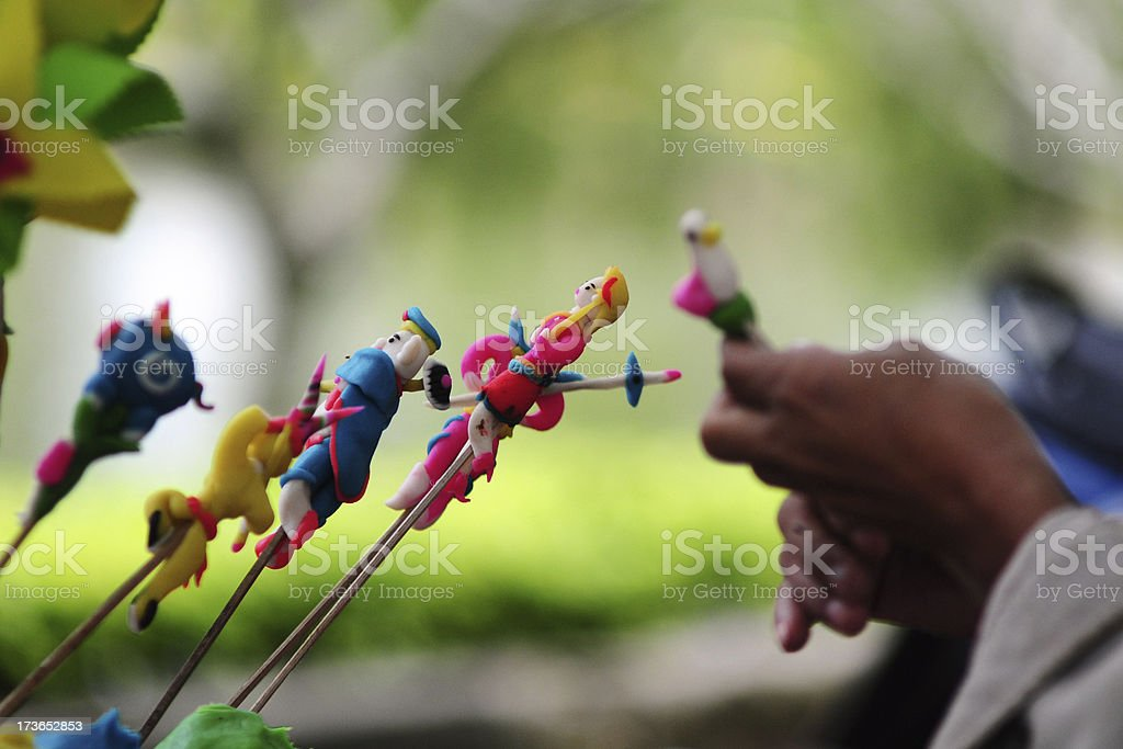 Traditional toy for children in Vietnam. royalty-free stock photo
