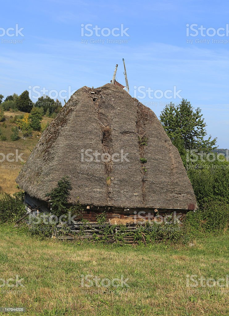 Traditional Transylvanian House royalty-free stock photo