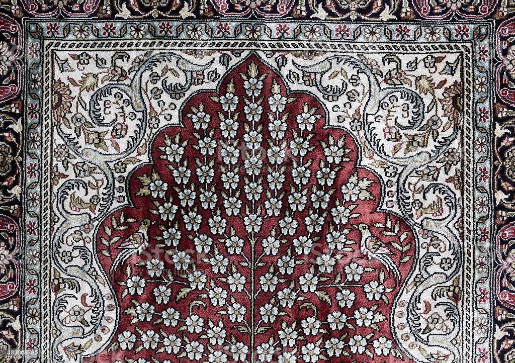 Traditional Turkish Carpet royalty-free stock photo