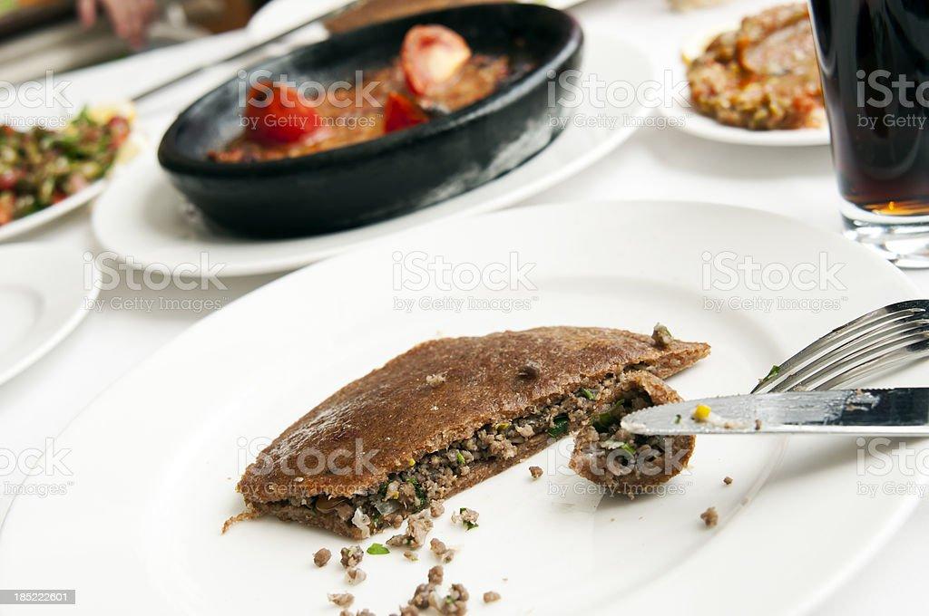 traditional turkish cuisine stock photo