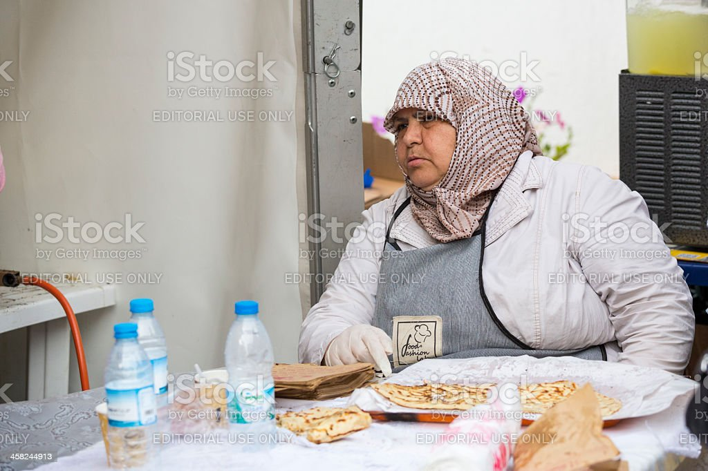 Traditional Turkish cuisine royalty-free stock photo