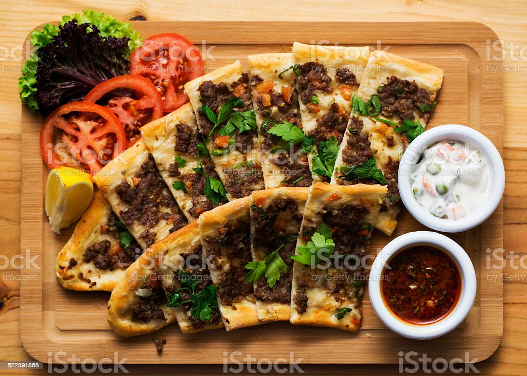 Traditional turkish food stock photo