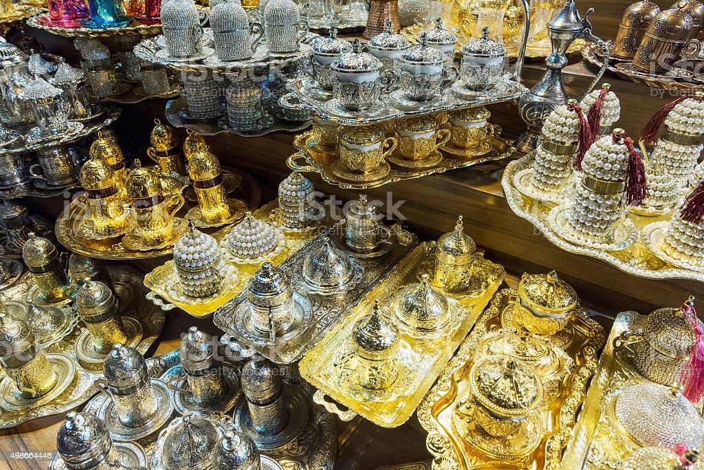 Traditional Turkish Hand Crafts stock photo