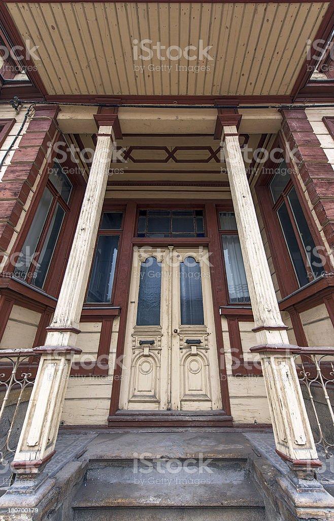 Traditional Turkish House stock photo
