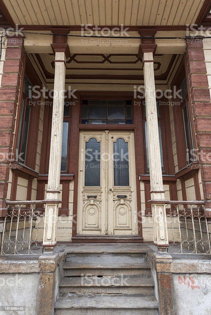 Traditional Turkish Houses stock photo