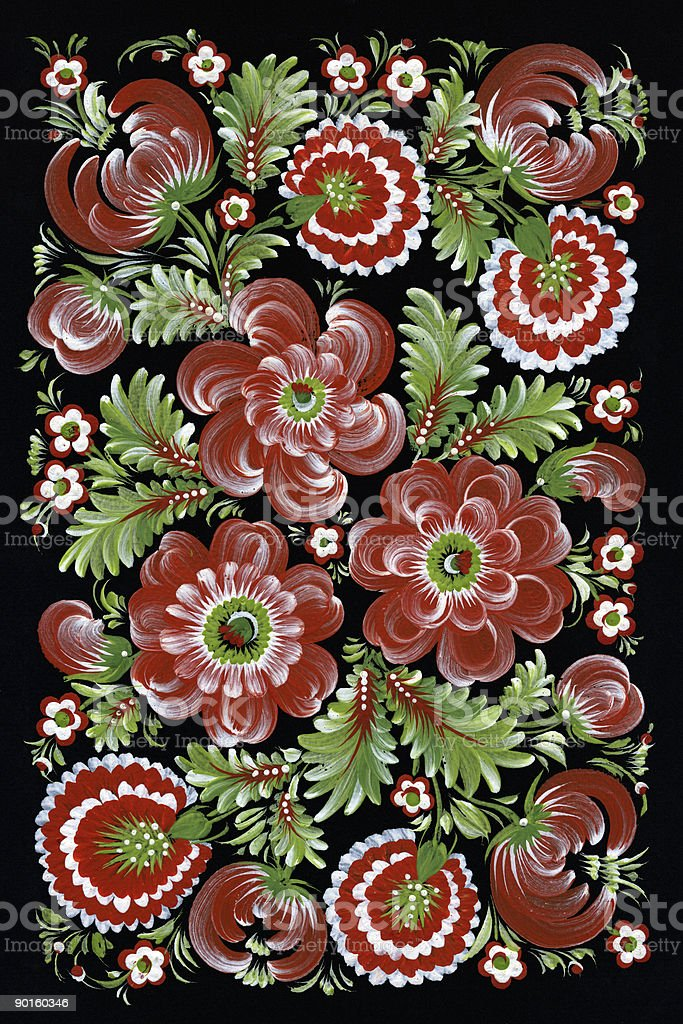 traditional ukrainian pattern royalty-free stock photo