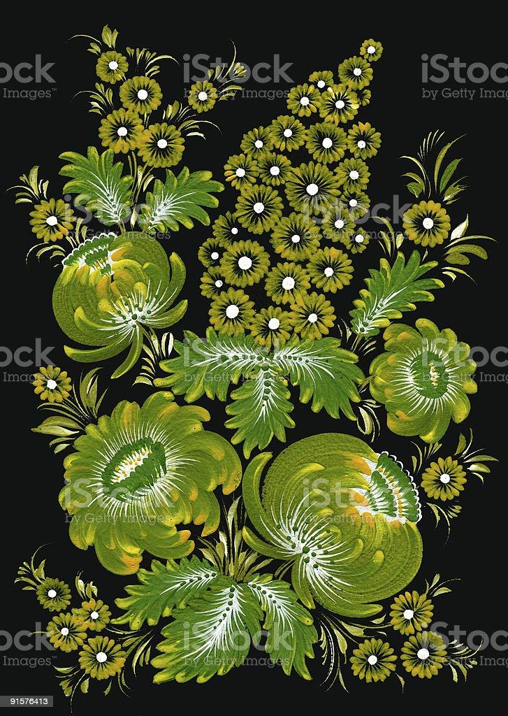 traditional ukrainian pattern royalty-free stock photo
