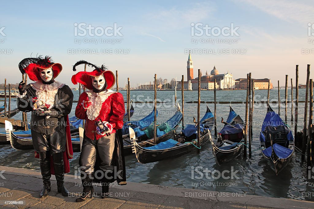 Traditional Venetian Carnival 2011. royalty-free stock photo