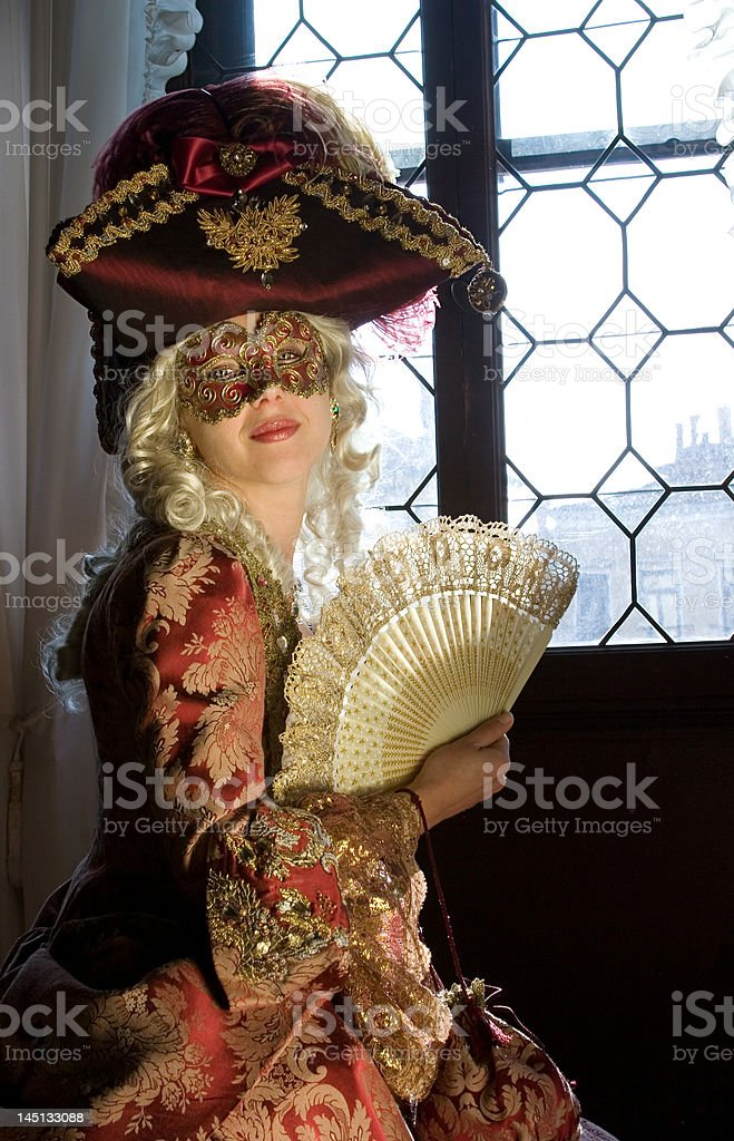 Traditional Venice stock photo