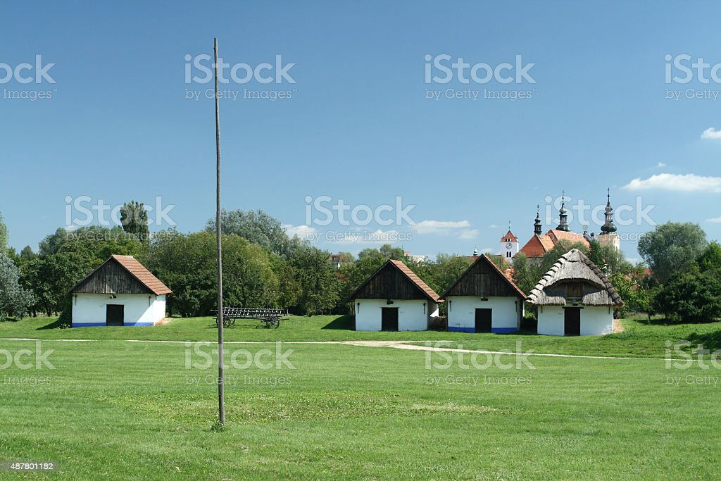 Traditional Viticulture Buildings stock photo