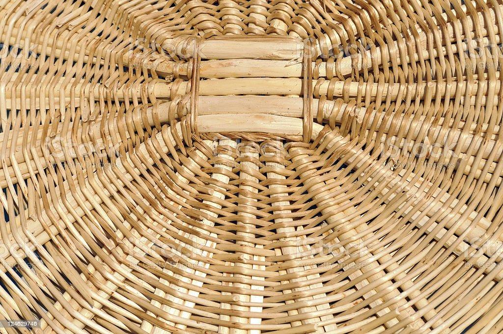 traditional weaved basket