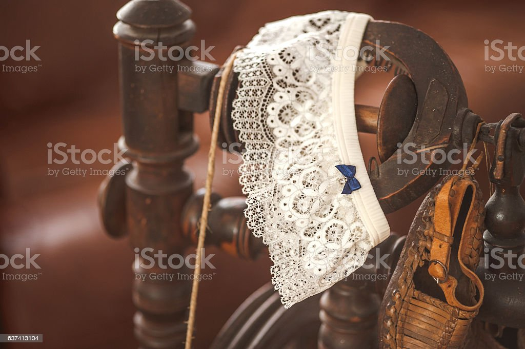 Traditional Wedding Female Accessories stock photo