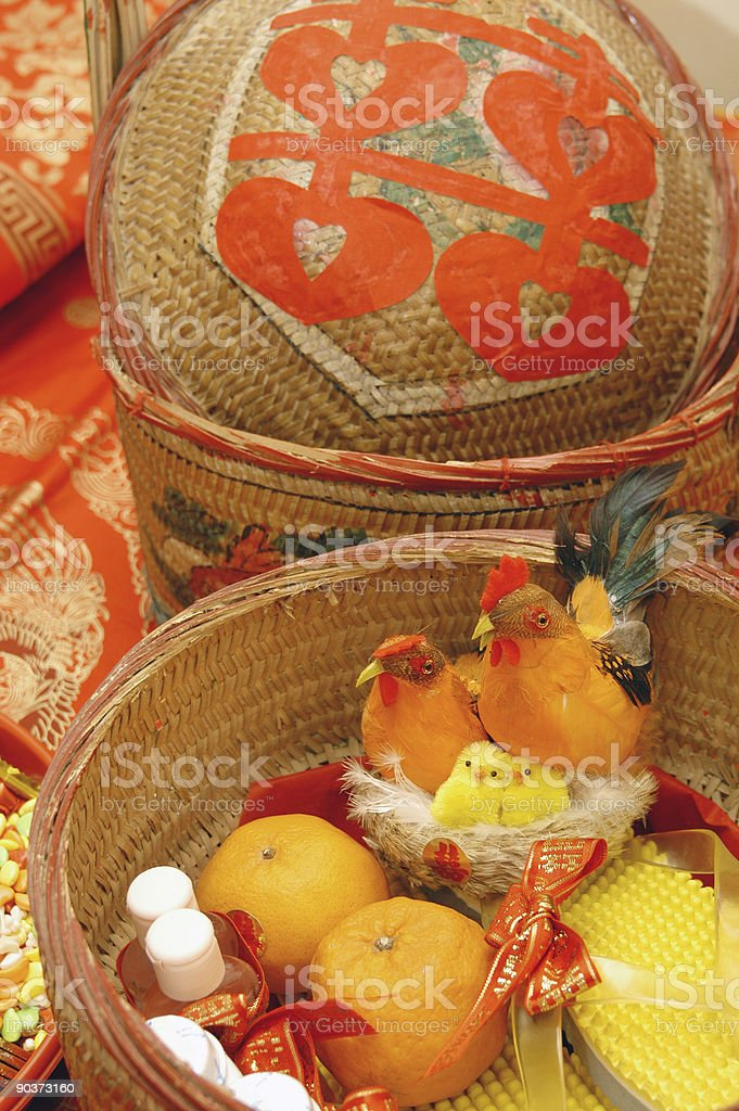 Traditional Wedding Gifts royalty-free stock photo