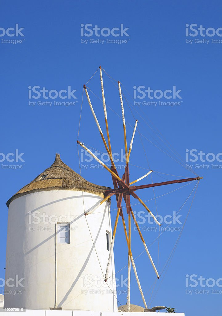 Traditional windmill royalty-free stock photo