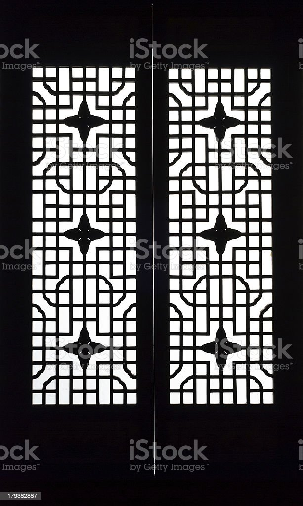 Traditional window of china royalty-free stock photo