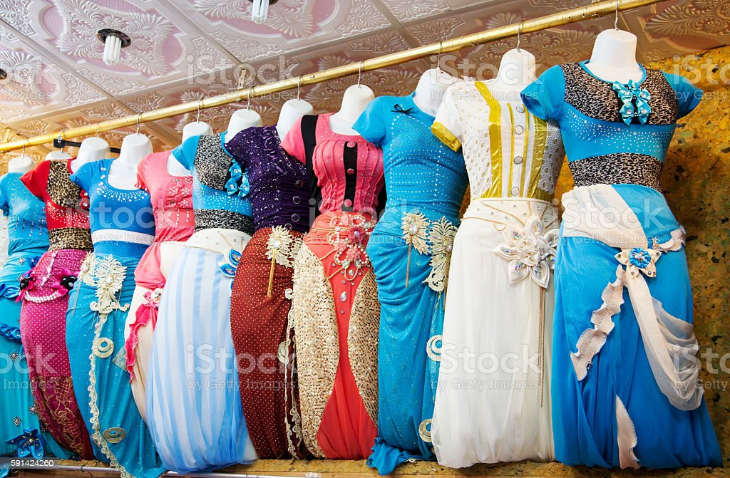 Traditional Yemen Clothes stock photo