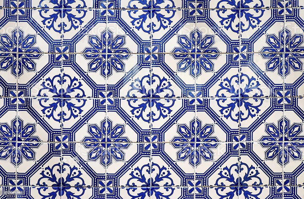 Traditionell portuguese tiles stock photo