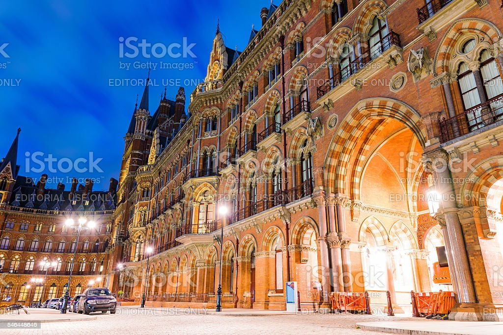 Traditonal English architecture stock photo