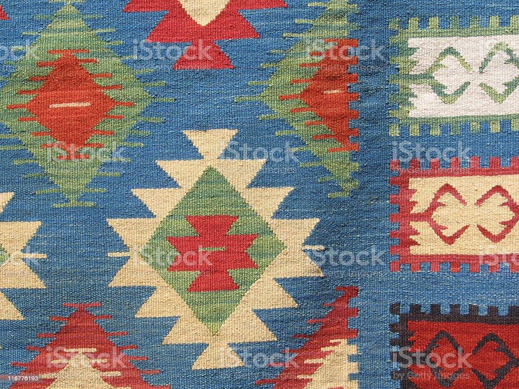 Gemütliches Rumänische Teppich Lizenzfreies stock-foto