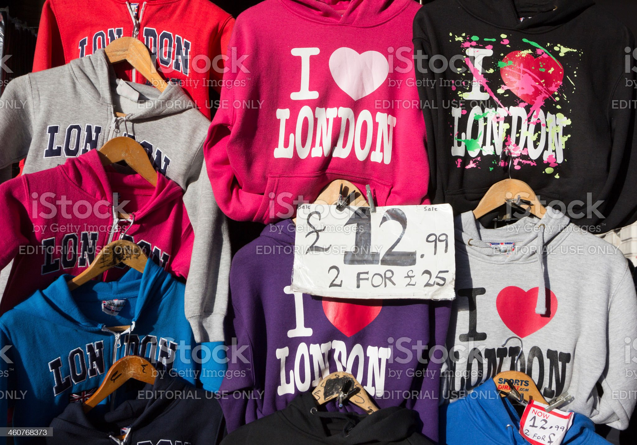 Trafalgar Square in London, England royalty-free stock photo