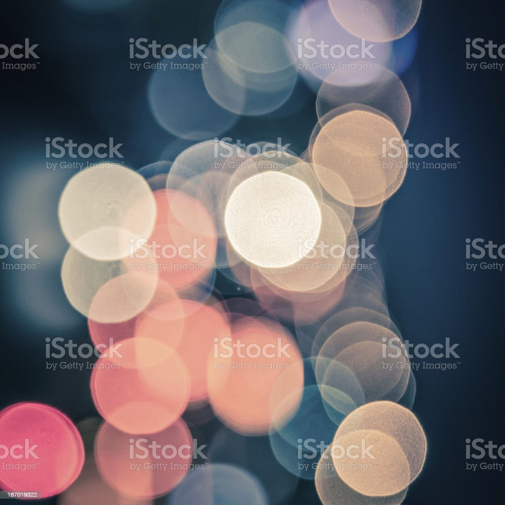traffic abstract light background of car on road royalty-free stock photo