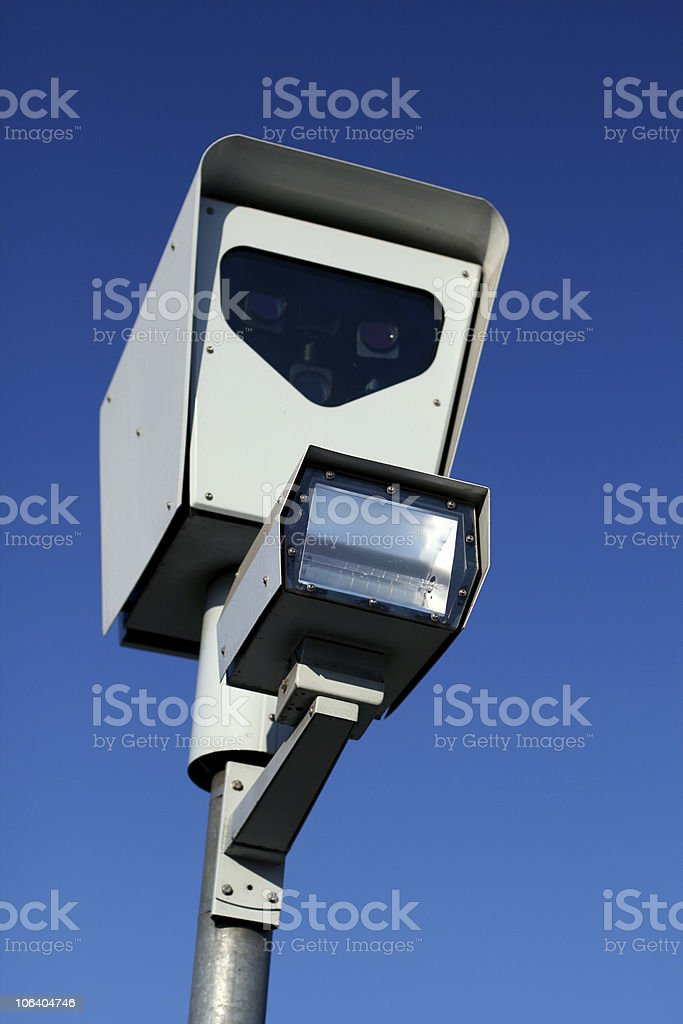 traffic camera royalty-free stock photo