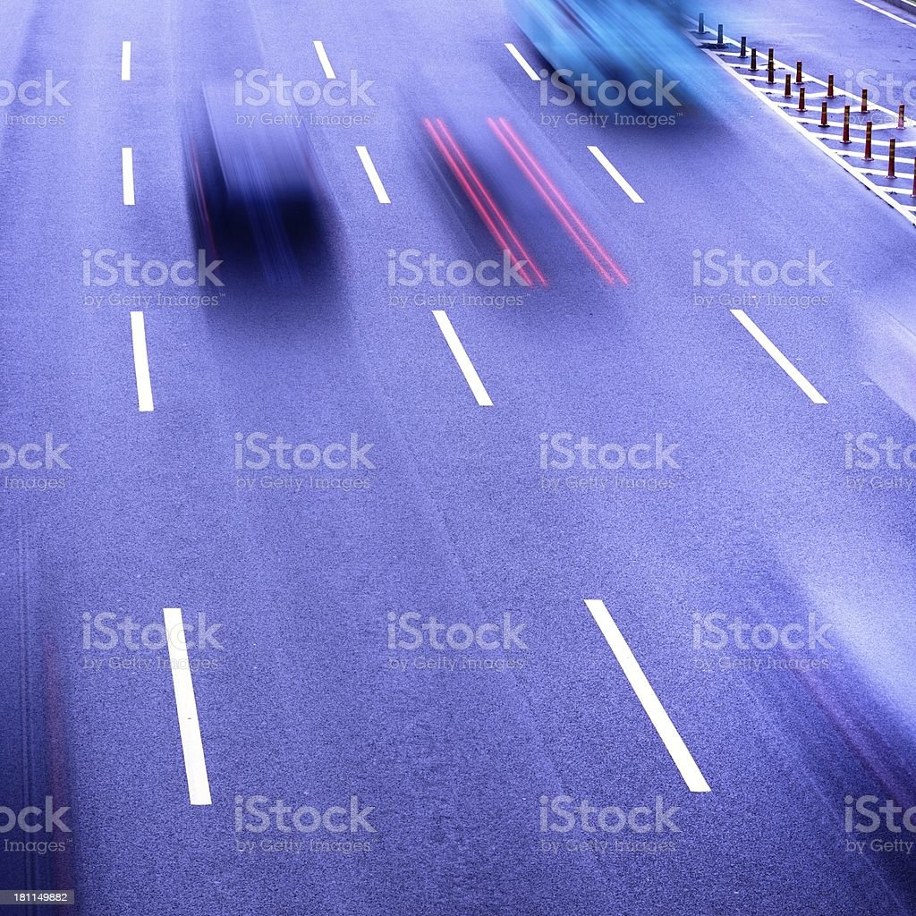 Traffic city royalty-free stock photo